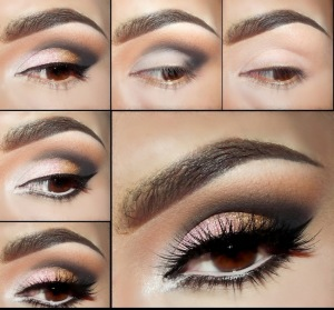 Smoky-Eyes-Makeup-Tutorials-Coffee-and-Silver
